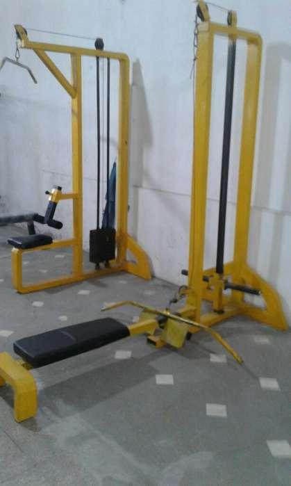 Maquina de Rremo Y para Tricep Y Trapeci