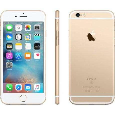 iPhone 6S 64Gb Dorado (Usado, Perfecto estado.) Silicone Case Verde Oscuro