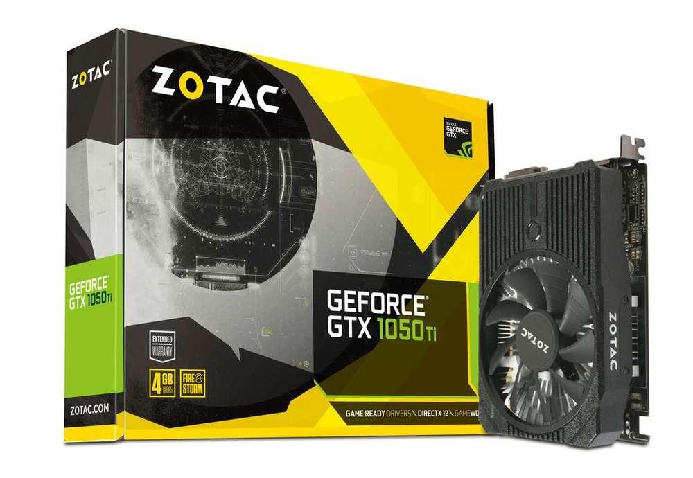 Oferta Gtx 1050 Ti 4gb Ddr5 Zotac Mini