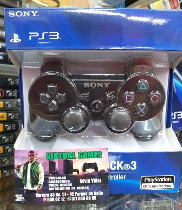 Control ps3 NUEVO! GARANTIA @Virtual_Games_Bello