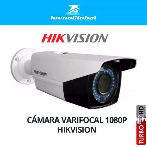 Cámara Varifocal Antibandalica 1080p Hikvision. Camaras de seguridad. CCTV. <strong>video</strong> vigilancia