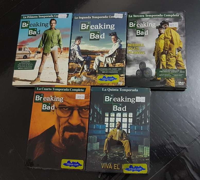Breaking Bad - Serie completa en DVD.
