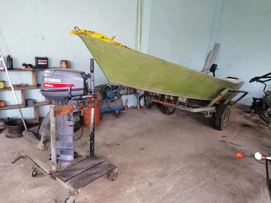 Canoa Motor Y Remolque