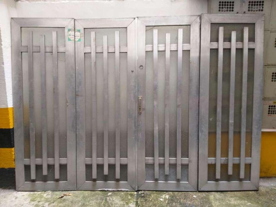 Vendo Puerta Garanje Aluminio 360x190