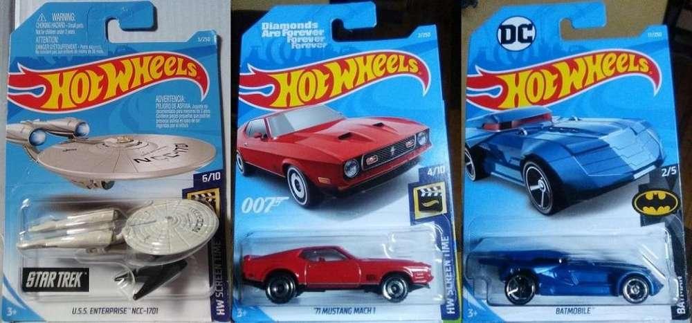 Hot Wheels Series y Películas 3x10 Dólares