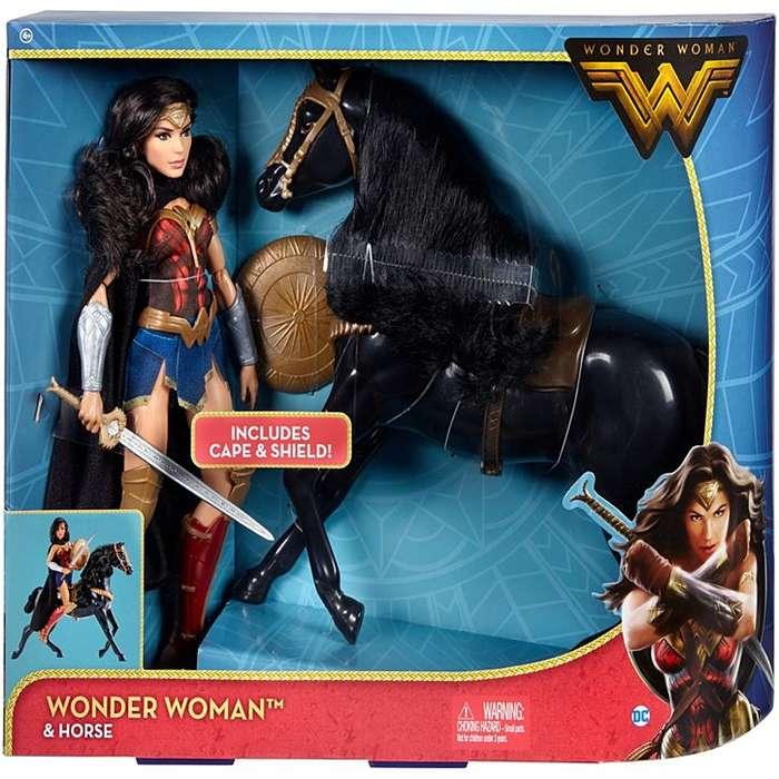 Wonder Woman con Caballo