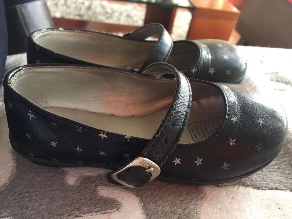 Zapatos Bosi Niña No 23