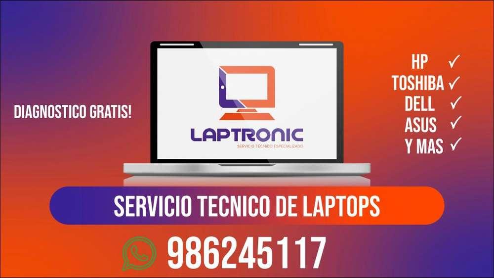 Servicio Tecnico Reparacion Laptop Compu Hp Lenovo Asus Tosh