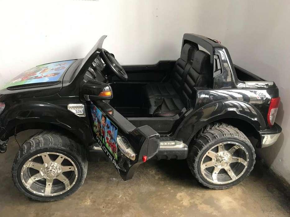 Camioneta bateria
