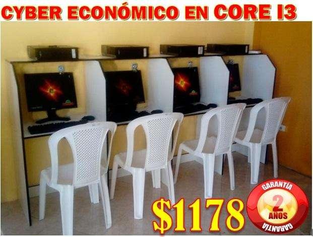 CYBER ECONÓMICO EN CORE I3 EN 1178 LLAMANOS AL 0997494383