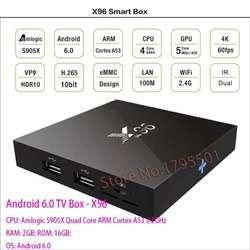 Tv Box Android 6.0, 2 Ram, 16 Gigas, 64 Bit, 4k, Codi Neflix