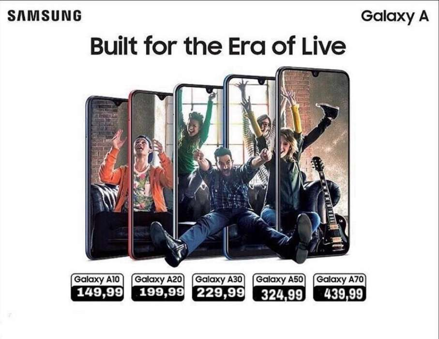 celular Samsung Galaxy A10 /A20 /A50/A70