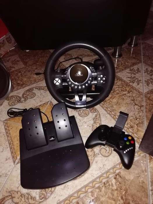 Vendo Volante con Pedales Y Gamepad