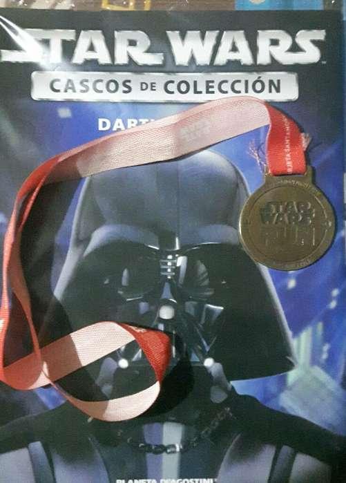Cascos Star Wars Mas Faciculo Y Medalla