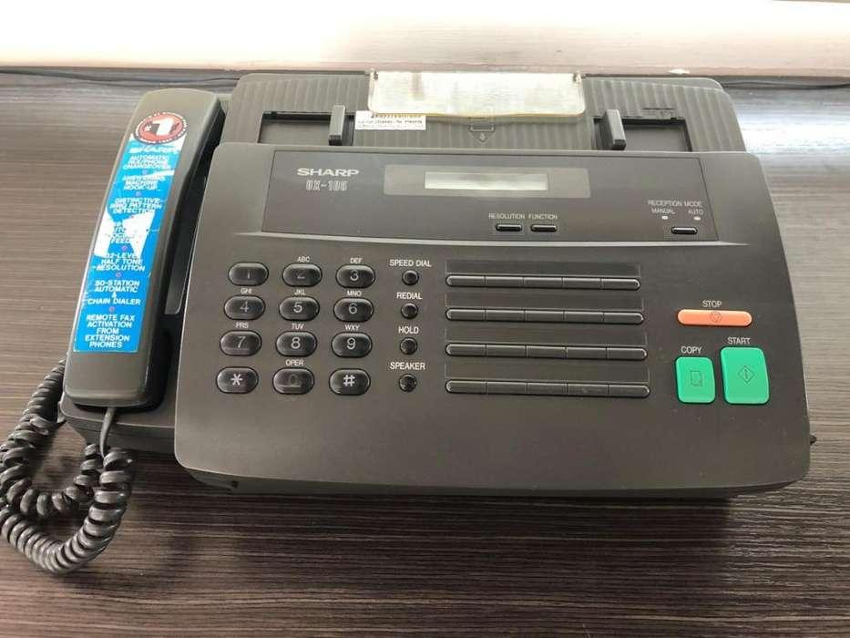 Telefax Sharp UX105 Teléfono Fax