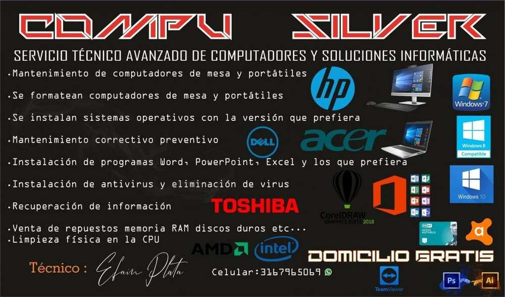 SERVICIO TÉCNICO DE COMPUTADORES Y SOLUCIONES INFORMÁTICAS 03