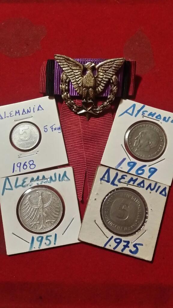 Monedas.y Medalla..nazi