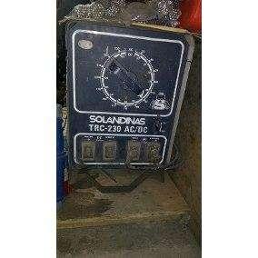 Máquina de Soldar Solandina Trc225
