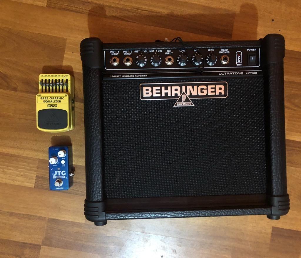 Amplificador Behringuer Y Dos Pedales
