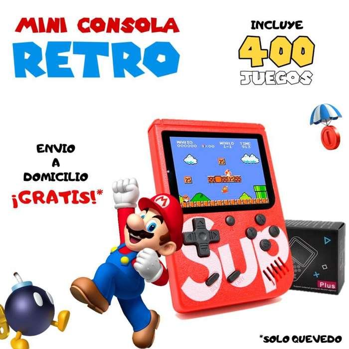 Mini Consola Retro Sup