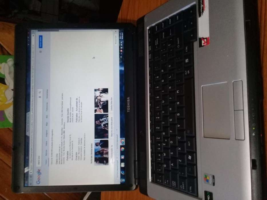 NOTEBOOK TOSHIBA MOD. SATELLITE IDEAL PARA TECNICOS RECIBO ALGO DE MI INTERES