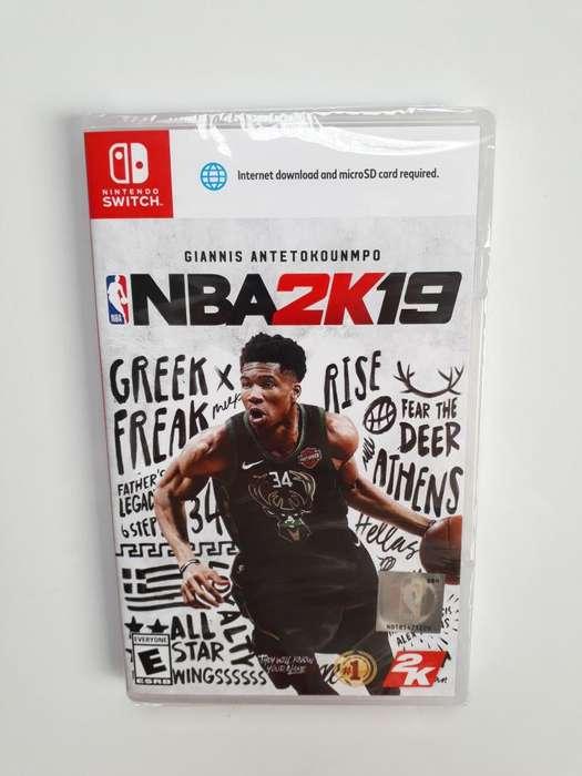 NBA 2K19 juego NBA2k19 Nintendo Switch Nuevo Y Sellado