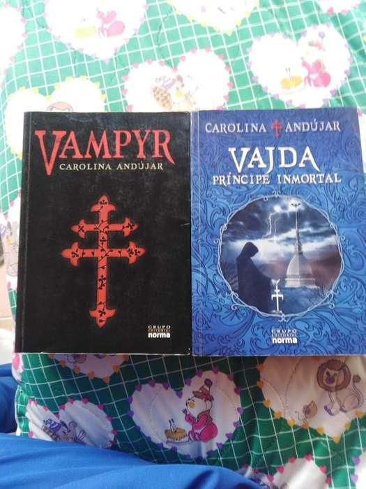 Libros Vampyr Y Vajda.