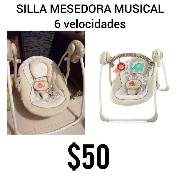 Silla Mesedora Musical