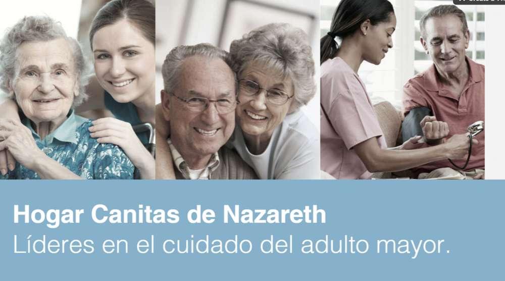 Hogar Geriatrico Canitas de Nazareth cuidados a personas mayores