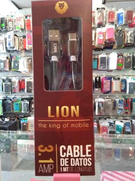 Cable de Carga Rapida Lion Tipo C