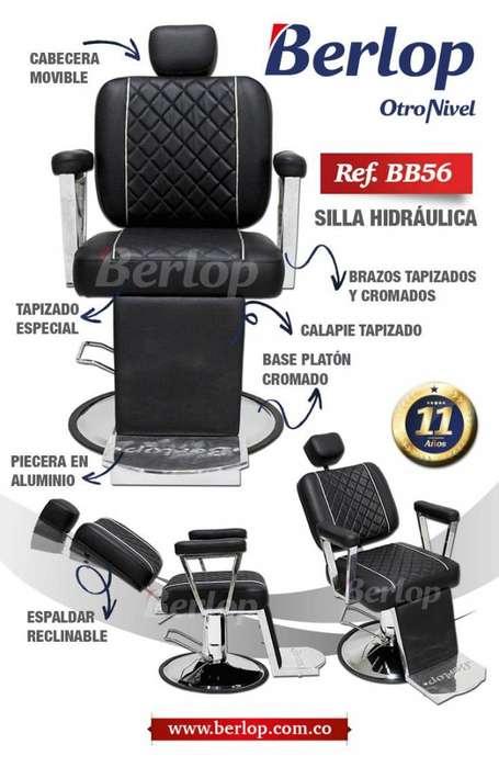 <strong>silla</strong> de barbería BB56