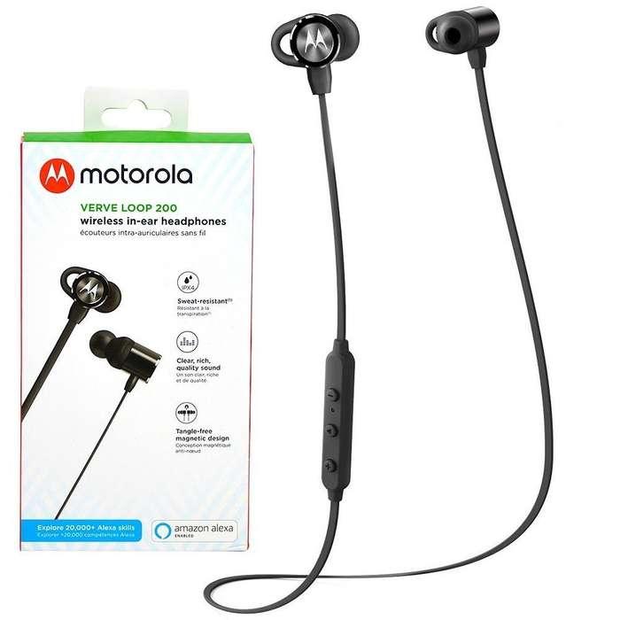 Audifonos Bluetooth Motorola Verve Loop 200 Deportivo CC Monterrey local sotano 5