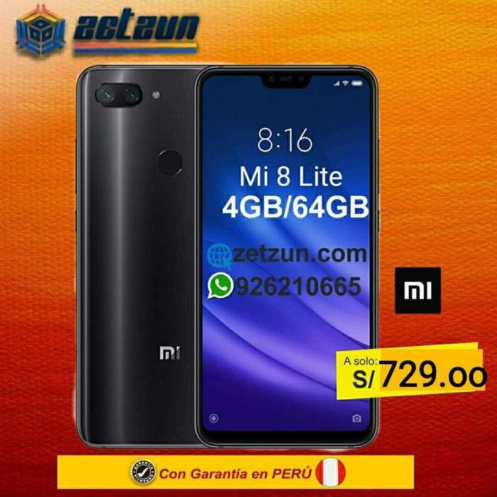 Xiaomi Mi 8 Lite 4gb 64gb Color Negro