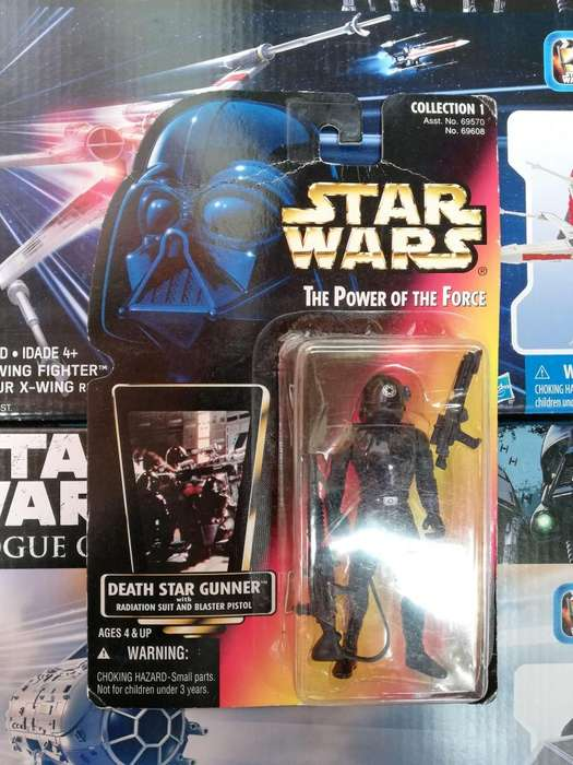 Star Wars The Power Of The Force - DEATH STAR GUNNER - Figura Kenner