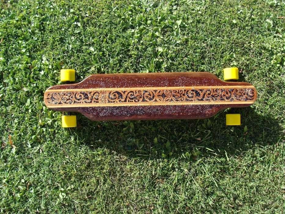Longboard Maori Maciza Tribal Style Neuquén