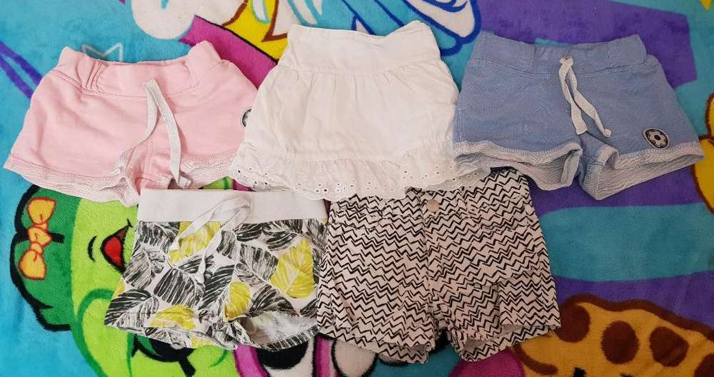 Lote Short Talle 3 Mimo