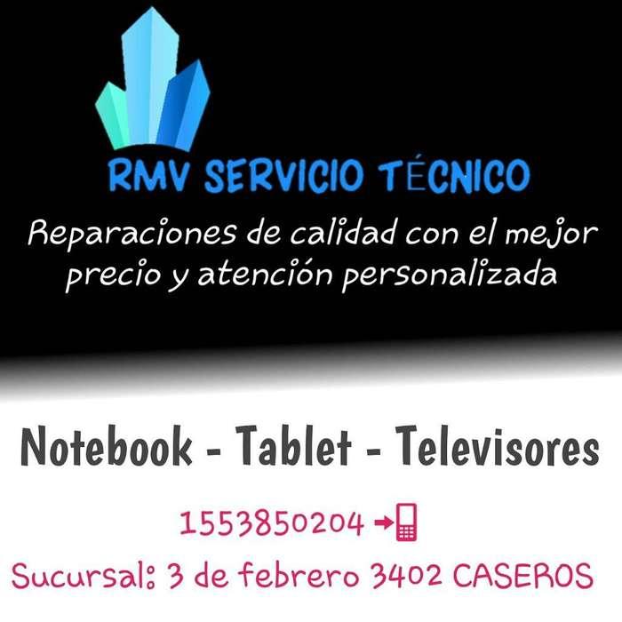 Servicio Tecnico Notebook Tablet Y Tv