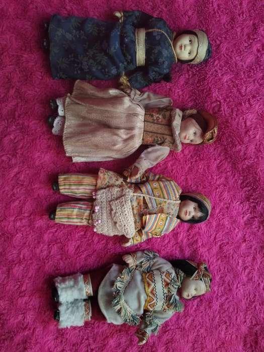 Muñecas de Porcelana Antigua