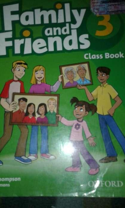 Libros Family And Friends 3 Usados