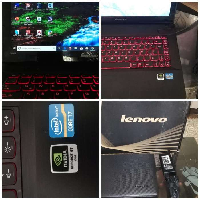 Lenovo Y 400 Core I7 12 Gb Ram Ssd 240