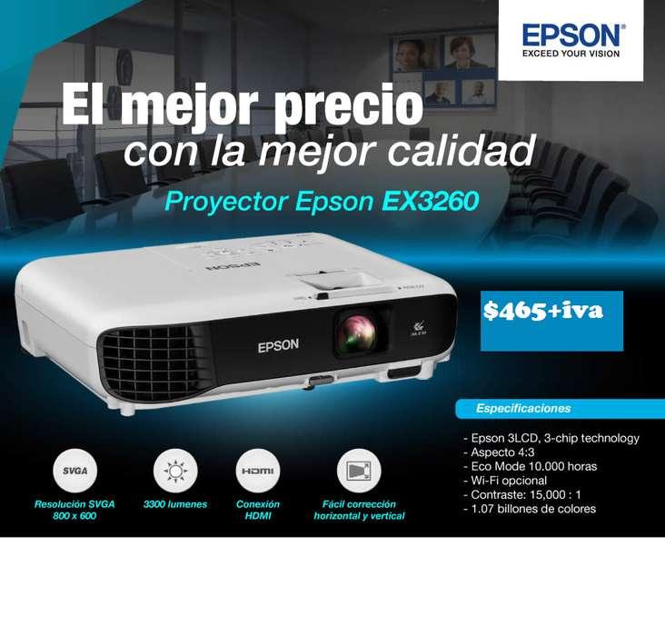 <strong>proyector</strong> EPSON MODELO EX3260