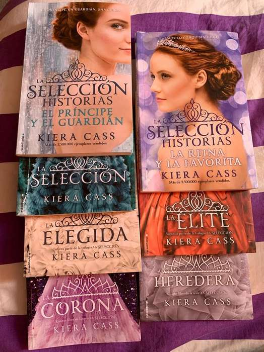 Libros de La Saga La Seleccion