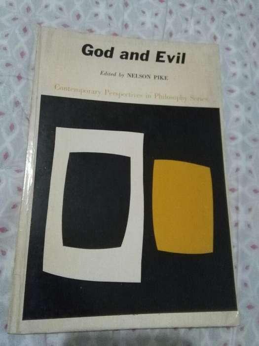 God And Evil . Nelson Pike . Dios Y El Mal . Libro de Filosofia en idioma ingles