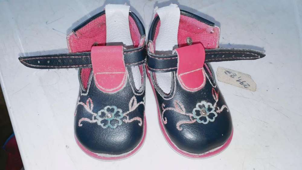 Zapato Ortopedico de Niña Talla 17