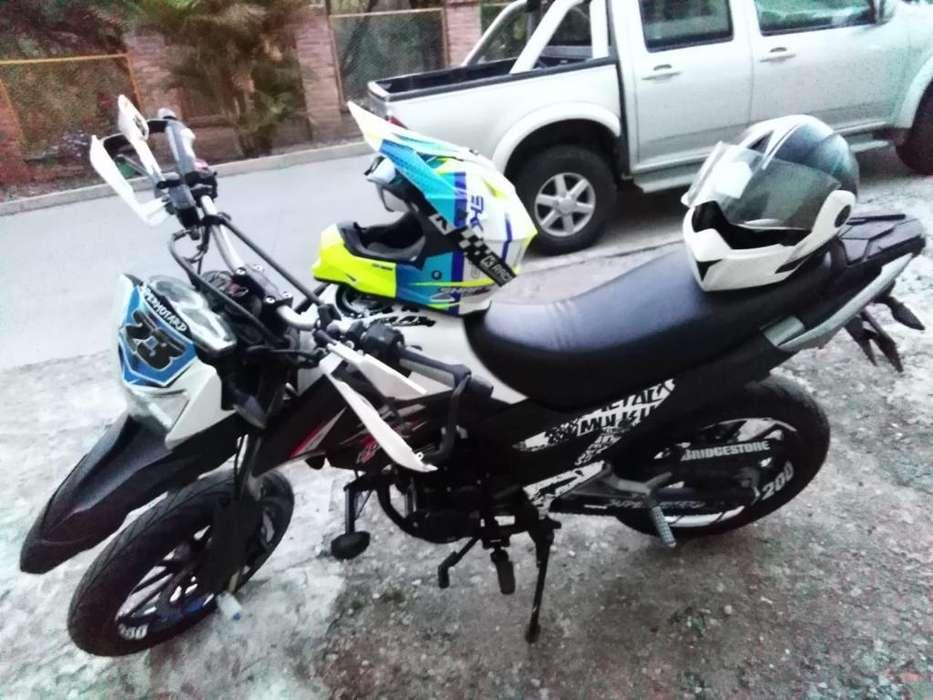 Vendo Moto Ttx200 Modelo 2019