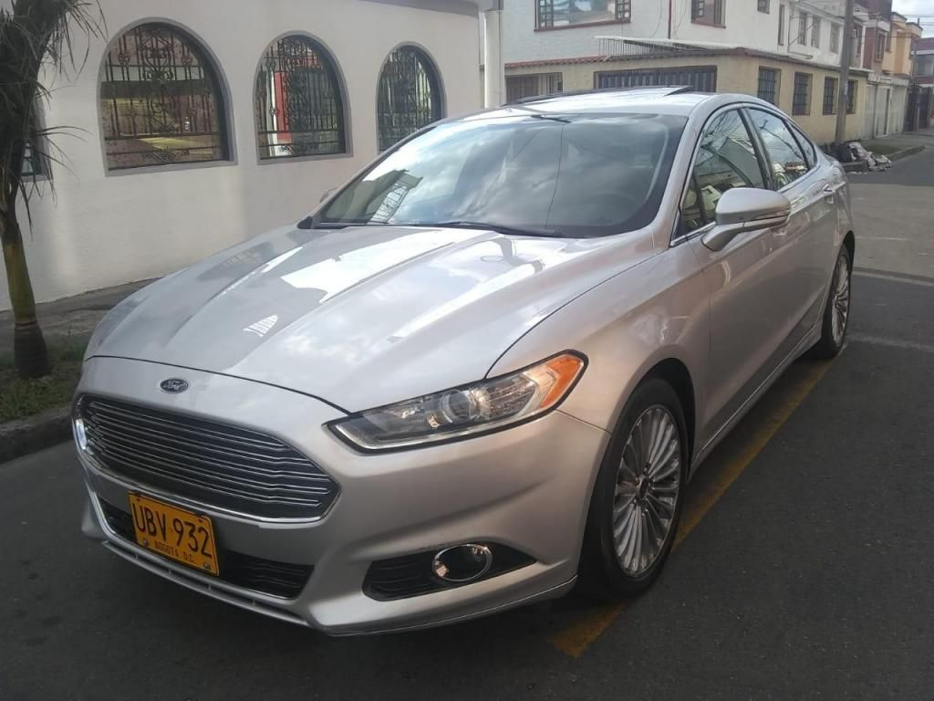 Ford Fusion Titanium 2.0 At F.e Te