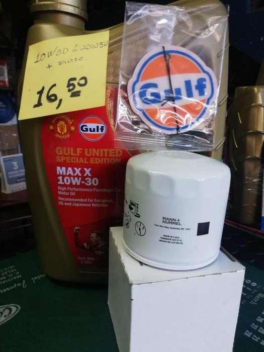 Aceite GULF ventas al por mayor y menor