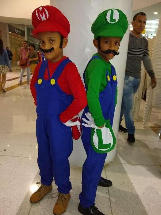 Se Vende Dizfraz de Mario Y Luigi