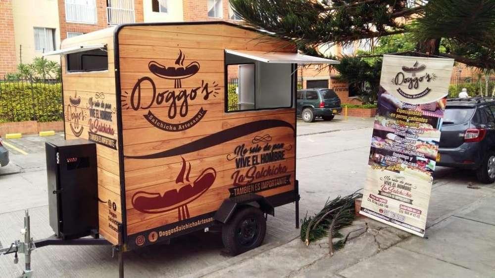 VENDO trailer de comidas rápidas. En cali