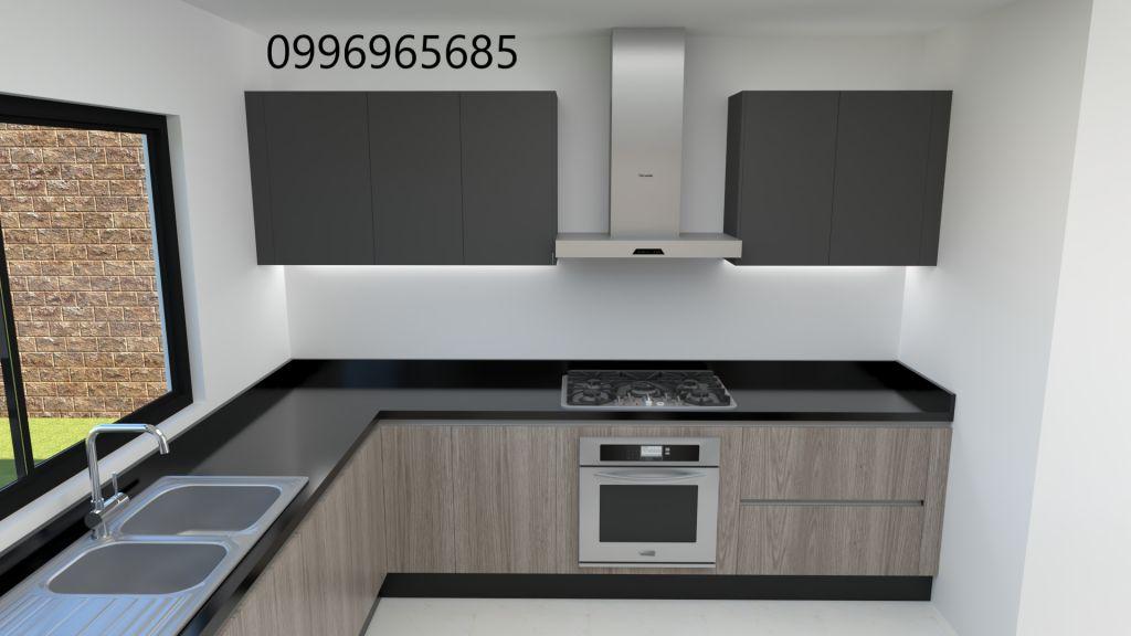 Muebles modulares de cocina, closets, anaqueles - Portoviejo